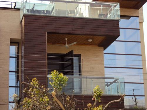 Deck wood waterproof exterior panel supplier in delhi and gurgaon for Exterior wall tile design ideas