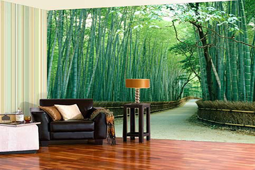 Wall wallpapers and wooden flooring for home and office for Latest wallpaper design for bedroom