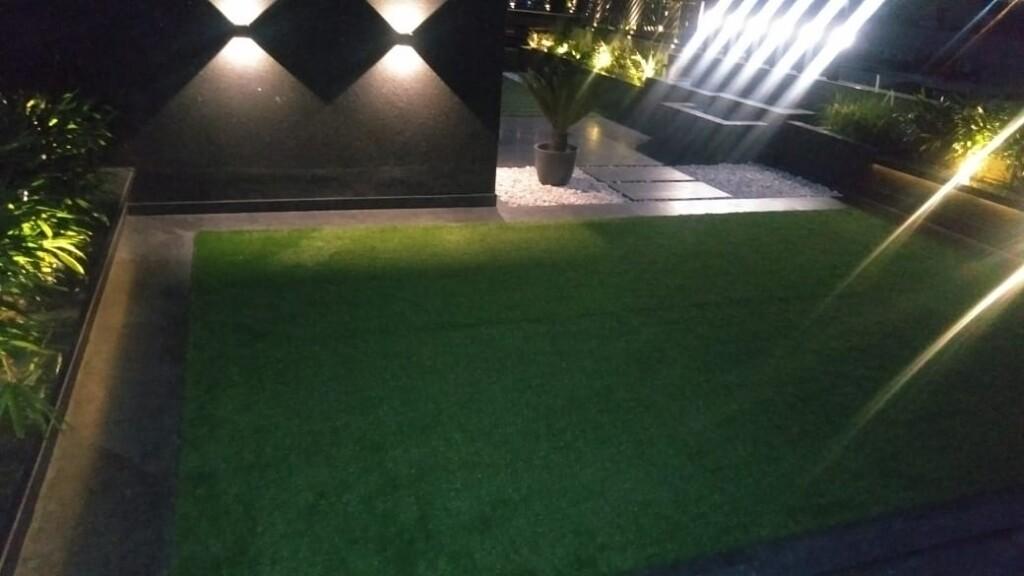 Artificial Grass on Terrace