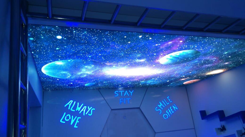 Galaxy Stretch Ceiling